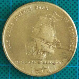 1970 STATE SAVINGS BANK BICENTENARY OF JAMES COOK LANDING