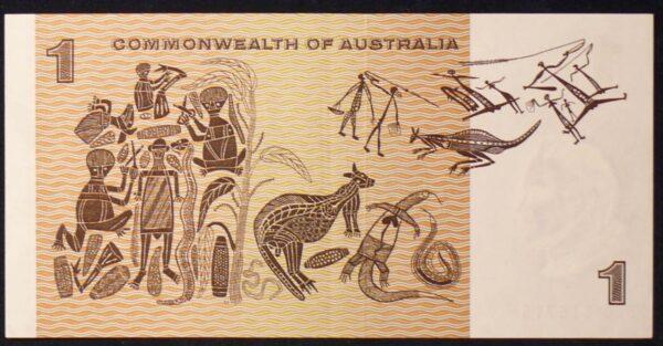 1972 Australia One Dollar Note - BEG