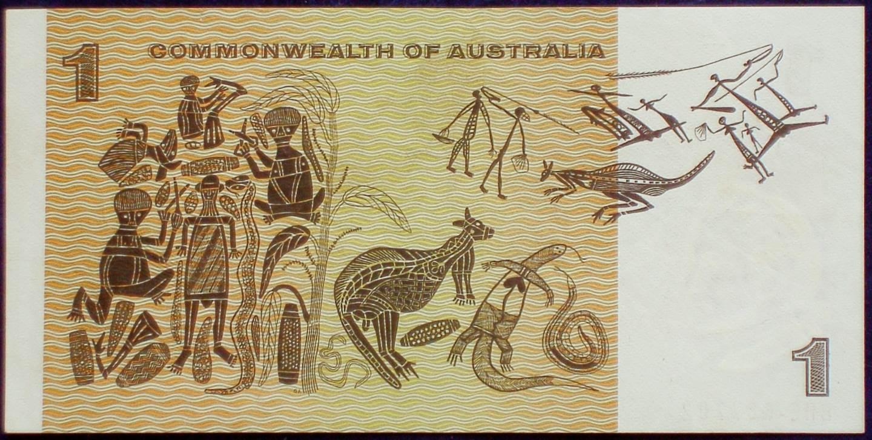 1972 Australia One Dollar Note - BHE
