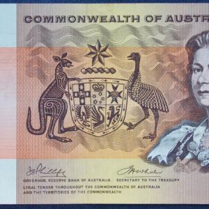 1972 Australia One Dollar Note - BHK