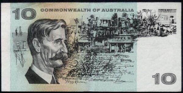 1972 Australia Ten Dollars - TAQ