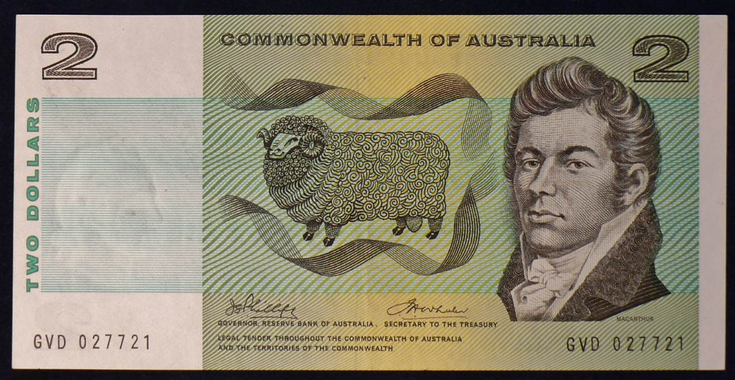 1972 Australia Two Dollars - GVD