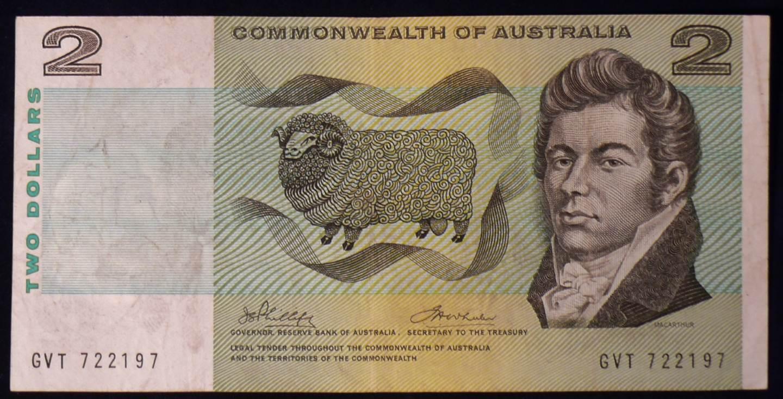 1972 Australia Two Dollars - GVT