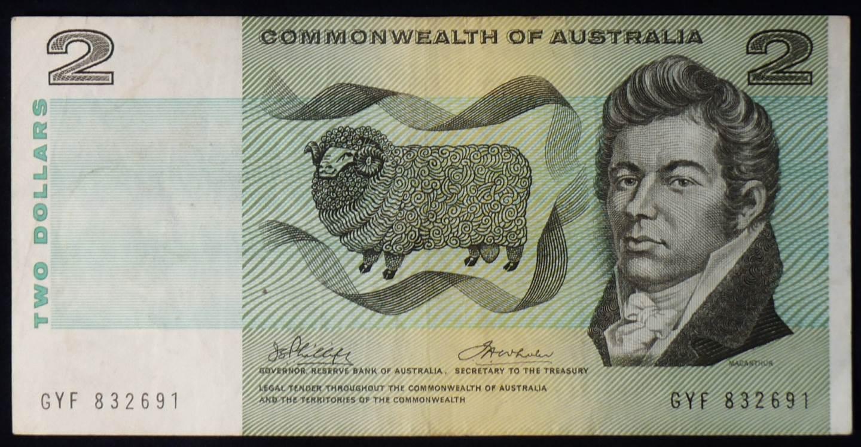 1972 Australia Two Dollars - GYF