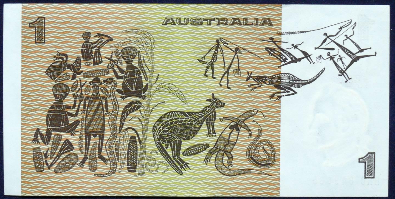 1974 Australia One Dollar Note - BRC