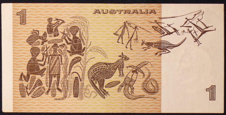 1974 Australia One Dollar Note - BST
