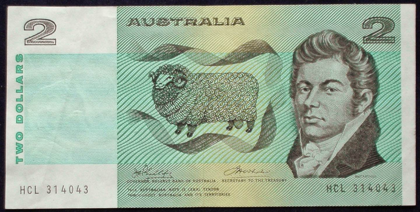 1974 Australia Two Dollars - HCL