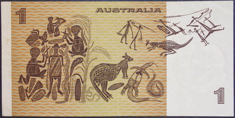 1976 Australia One Dollar Note - BYG