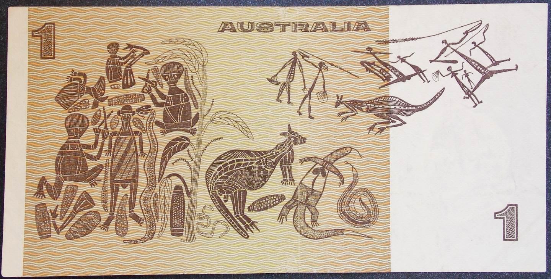 1976 Australia One Dollar Note - CBB