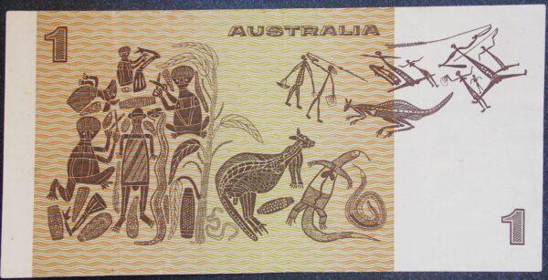 1976 Australia One Dollar Note - CDP