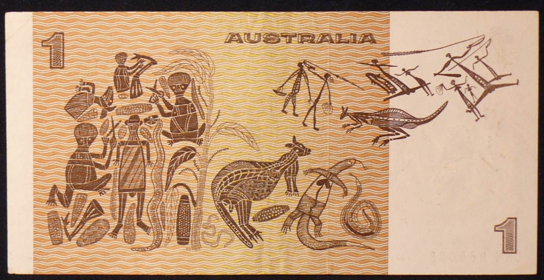1976 Australia One Dollar Note - CKN