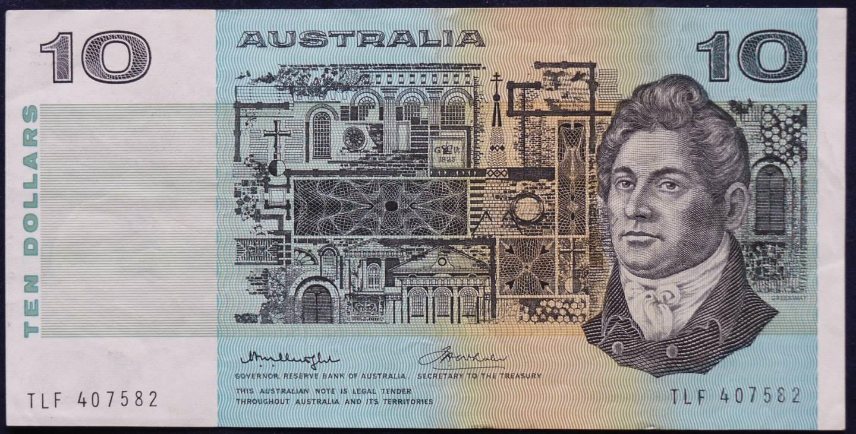 1976 Australia Ten Dollars - TLF