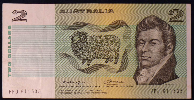 1976 Australia Two Dollars - HPJ