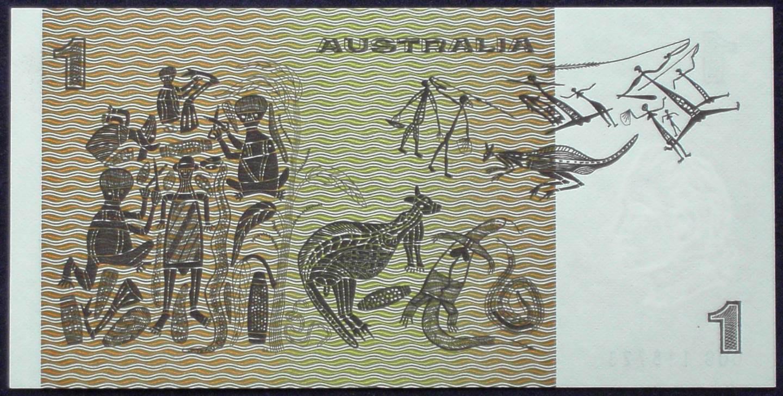 1977 Australia One Dollar Note - CQG