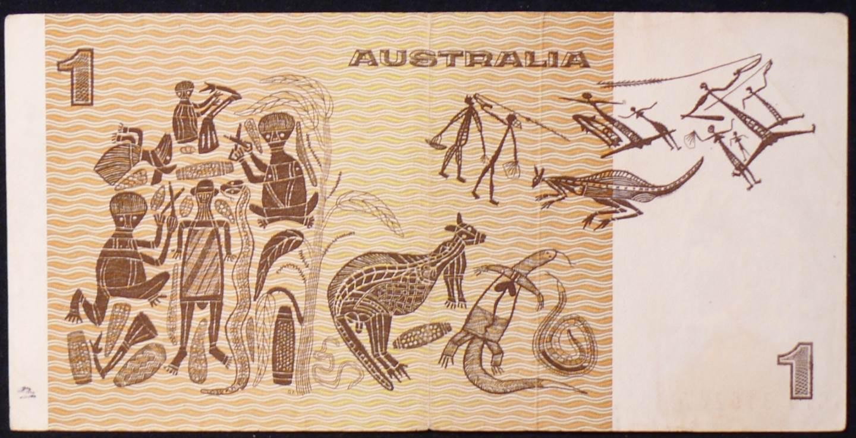 1977 Australia One Dollar Note - CTD
