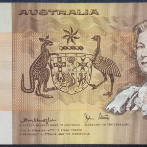 1977 Australia One Dollar Note - DDY