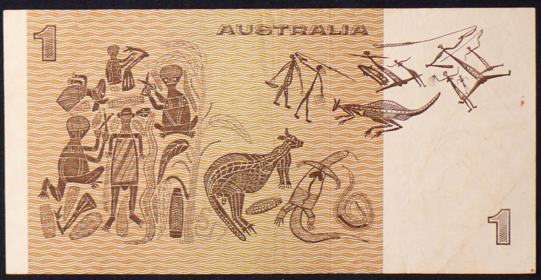 1977 Australia One Dollar Note - DDY