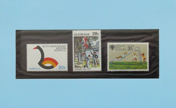 1979 Australia Post Stamp Pack - Selected Issues