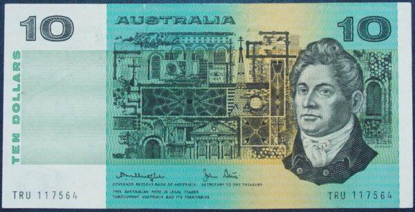 1979 Australia Ten Dollars - TRU