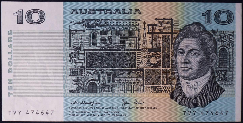 1979 Australia Ten Dollars - TVY