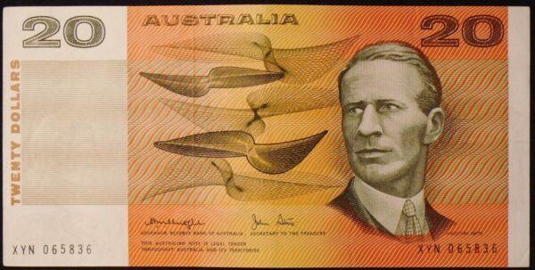 1979 Australia Twenty Dollars Paper - XYN