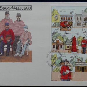 1980 Australia Post FDC - National Stamp Week