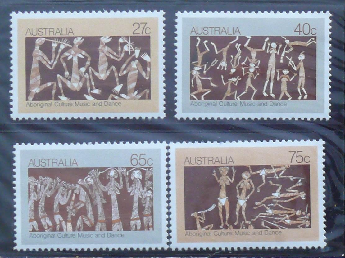 1981 Australia Post Stamp Pack - Aboriginal Dance