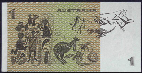 1982 Australia One Dollar Note - DPD