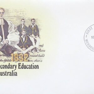 1982 Australia Post FDC - 150 Years Secondary Education