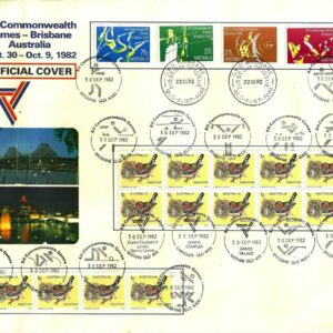 1982 Australia Post FDC - XII Commonwealth Games