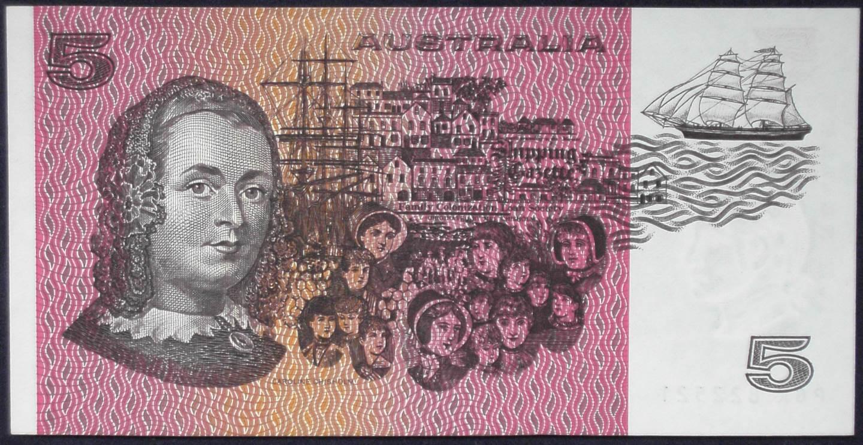1983 Australia Five Dollars - PGK