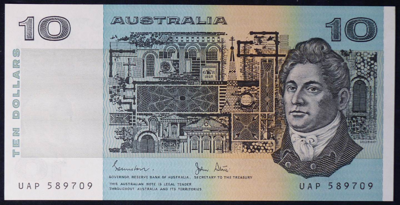 1983 Australia Ten Dollars - UAP