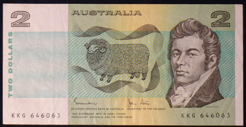 1983 Australia Two Dollars - KKG
