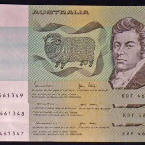 1983 Australia Two Dollars x 3 - KDF
