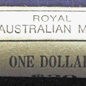 1984 Australia One Dollar Mint Roll BU - Mob Of Roos