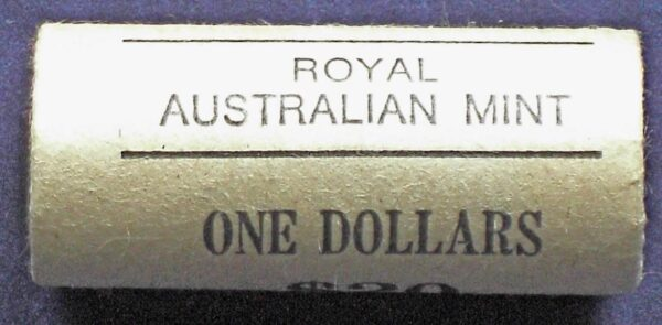 1984 Australia One Dollar Mint Roll BU - Mob Of Roos