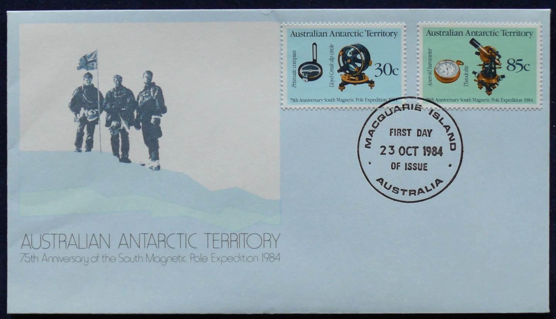 1984 Australia Post FDC - Australian Antarctic Territory