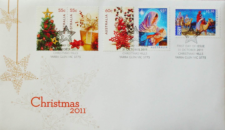 1984 Australia Post FDC - Christmas