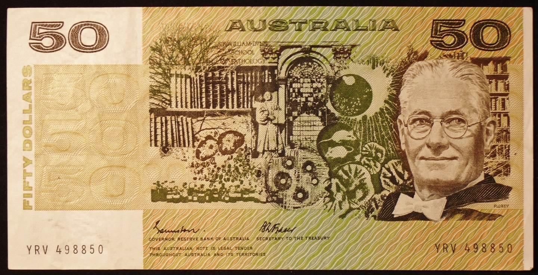 1985 Australia Fifty Dollars - YRV