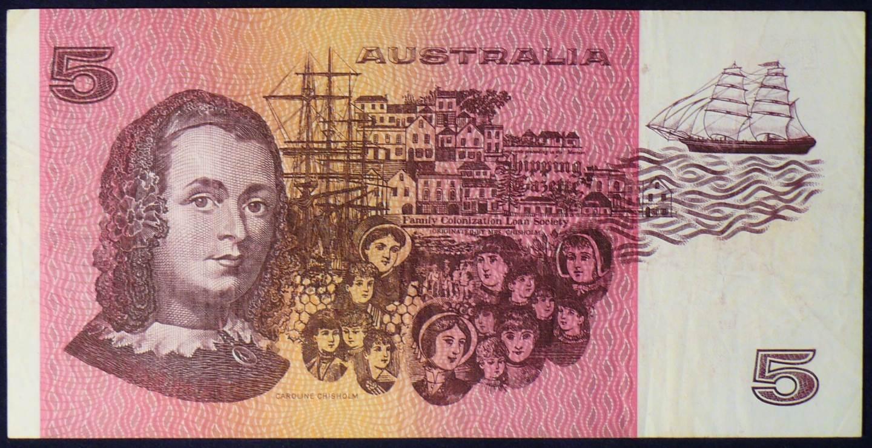 1985 Australia Five Dollars - PXC