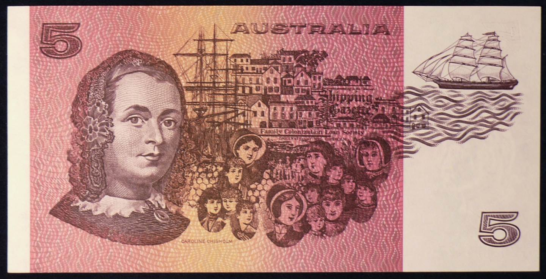 1985 Australia Five Dollars - PZQ
