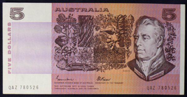 1985 Australia Five Dollars - QAZ