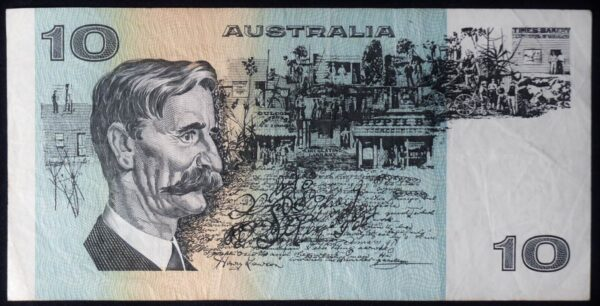 1985 Australia Ten Dollars - UZL