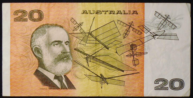 1985 Australia Twenty Dollars Paper - ECY