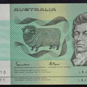 1985 Australia Two Dollars x 2- LKJ