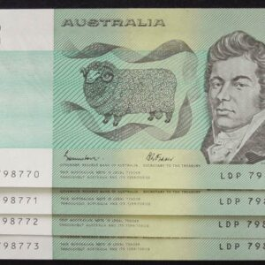1985 Australia Two Dollars x 4 - LDP