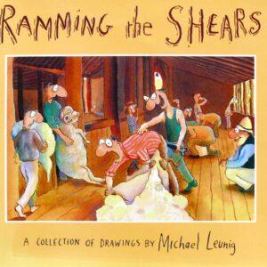 1985 Michael Leunig  - Ramming The Shears