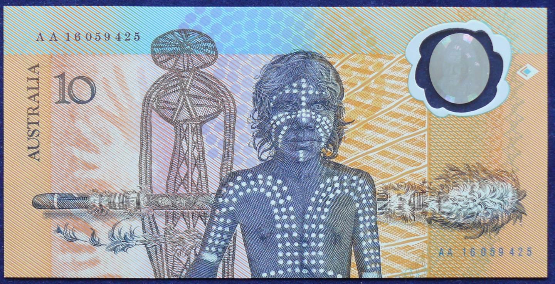 1988 Australia $10 Bicentennial Folder - AA 16  A