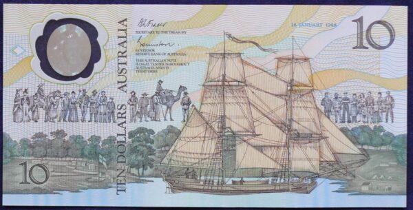 1988 Australia $10 Bicentennial Folder - AA 16