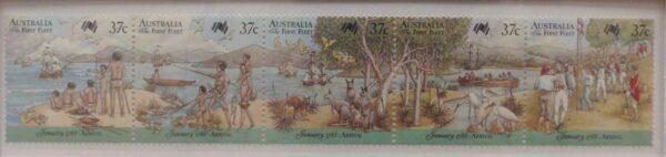 1988 Australia Post Stamp Pack - First Fleet Arrival